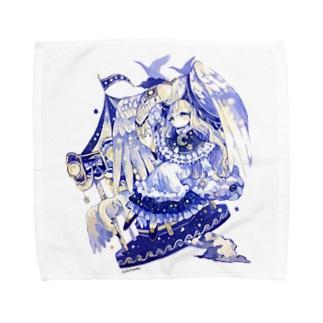白鳥のメリーゴーランド Towel handkerchiefs