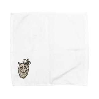 モモ太 Towel handkerchiefs