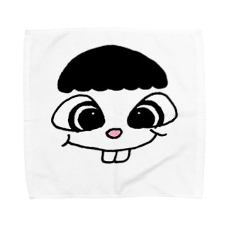 CFA-でっぱ君 Towel handkerchiefs