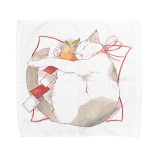 もっちり猫 Towel handkerchiefs
