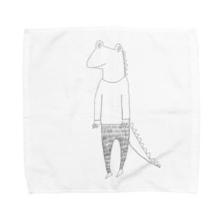 My friends  crocodile Towel handkerchiefs