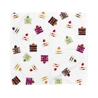 ケーキ2 Towel handkerchiefs