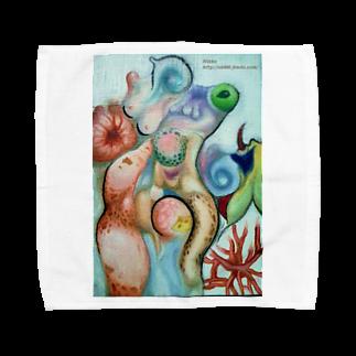 Metamorphoses~Strange&Bizzare~のくねくね Towel handkerchiefs