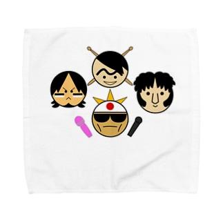 いけ楽のヤーツ Towel handkerchiefs