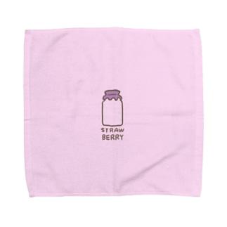 いちご牛乳。 Towel handkerchiefs