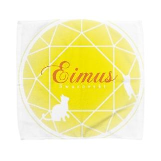 eimusグッズ(黄) Towel handkerchiefs