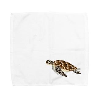 ウミガメ Towel handkerchiefs