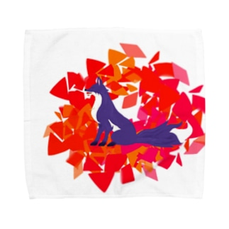 妖狐の思慕 Towel handkerchiefs