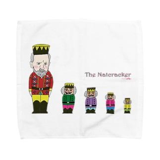 ミナミハチゴーのくるみ割り人形2020 Towel handkerchiefs