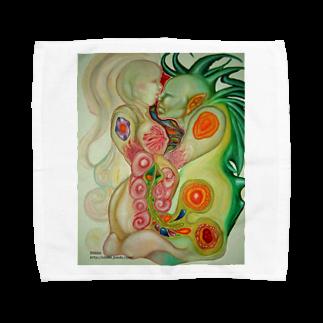 Metamorphoses~Strange&Bizzare~の融合体ステッカー Towel handkerchiefs