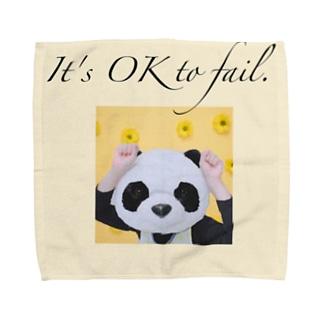 ぱんだ保育士ハンドタオル Towel handkerchiefs