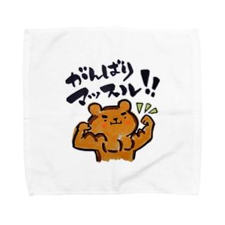 くまっちょくん Towel Handkerchief