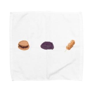 和菓子三連単 Towel handkerchiefs