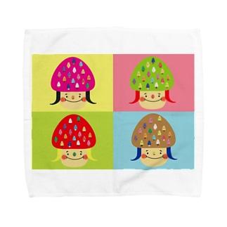 山子 Towel handkerchiefs