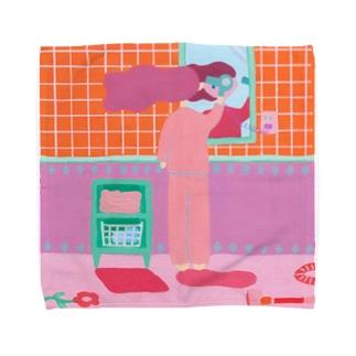 ドライヤー Towel handkerchiefs