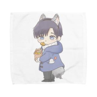 ハロウィンちびいつき Towel handkerchiefs