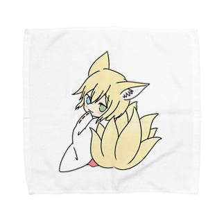 神狐の社(主)キャラグッズ Towel handkerchiefs