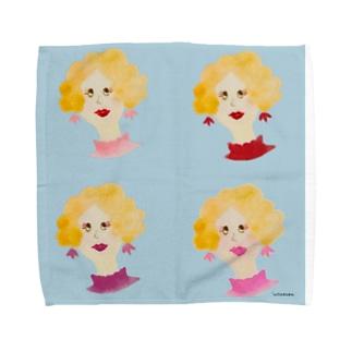 マダムセンターパート Towel handkerchiefs