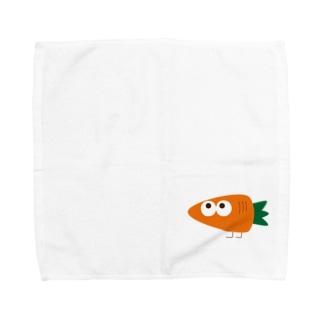 にんじん星の人 Towel handkerchiefs