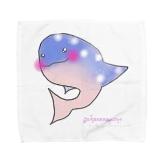 Whale shark〜ジンベイさん〜 Towel handkerchiefs