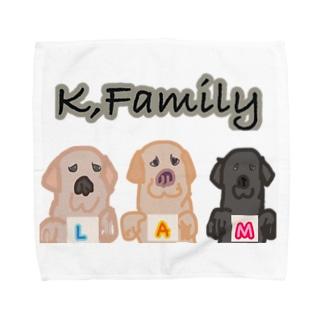 k family Towel handkerchiefs