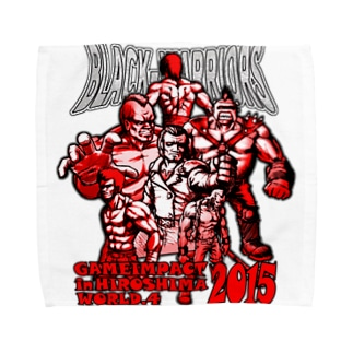 BLACK WARRIORS Towel handkerchiefs