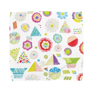 flower park Towel handkerchiefs