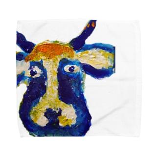 牛のくん Towel handkerchiefs