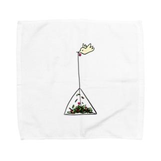 テトラポットバード Towel handkerchiefs