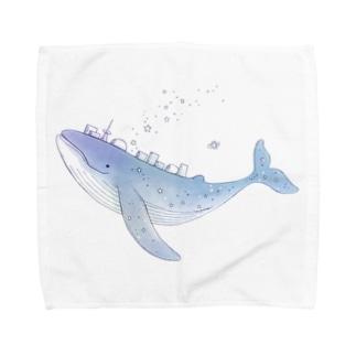 宇宙くじら「nova」さん Towel Handkerchief