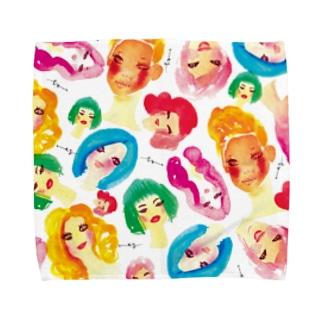 women Towel handkerchiefs