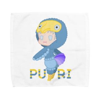ぷり☆ドードーちゃん Towel Handkerchief