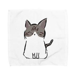 にゃにゃん Towel handkerchiefs