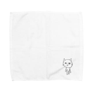 ねこのハンカチ Towel handkerchiefs