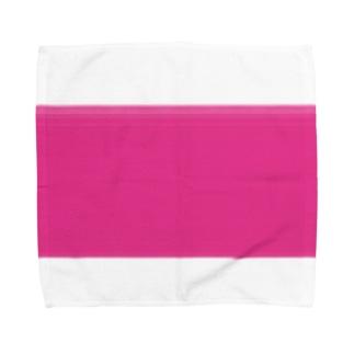 #e7398e Towel handkerchiefs