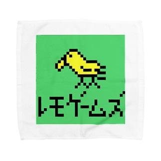 レモゲームズ Towel handkerchiefs