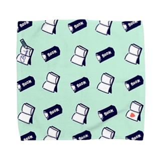 本とノート Towel handkerchiefs