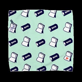 たんしお雑貨店の本とノート Towel handkerchiefs