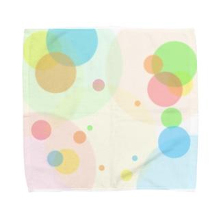 グラデーション Towel handkerchiefs