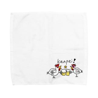 乾杯てぃきん!! Towel handkerchiefs