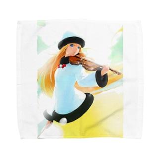闘技演武【公式グッズ】MWF01情熱の風ライラ Towel handkerchiefs