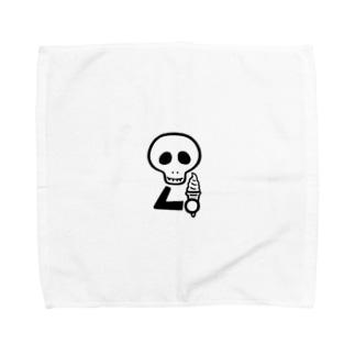 スカルンバ( ソフトクリーム) Towel Handkerchief