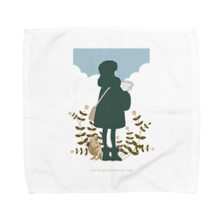 you can go anywhere you want. Towel handkerchiefs