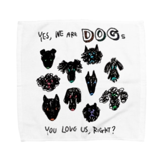 You love us, right? Towel handkerchiefs