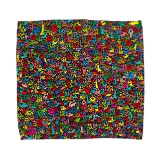 トロピカルフレンズ Towel handkerchiefs