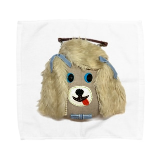 大須賀理恵の犬バッグ君 Towel handkerchiefs