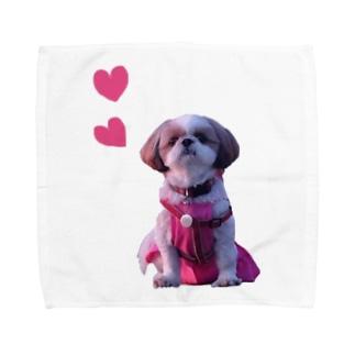 心ちゃんグッズ💗 Towel handkerchiefs