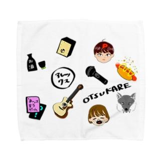 思い出詰め色ありVer Towel handkerchiefs