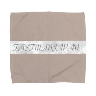 FASTMANJAPAN  BOX LOGO Towel handkerchiefs