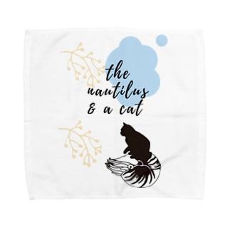 SCP-083-JPノーチラスと猫 Towel handkerchiefs